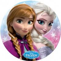 STOR - Melamina Platon Frozen Disney Sisters