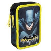 CERDA - DC Comics Trousse à crayons triple Batman Giotto