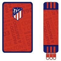 CYP BRANDS - Trousse à crayons triple Atletico Madrid