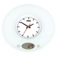 Balance balance de cuisine avec horloge