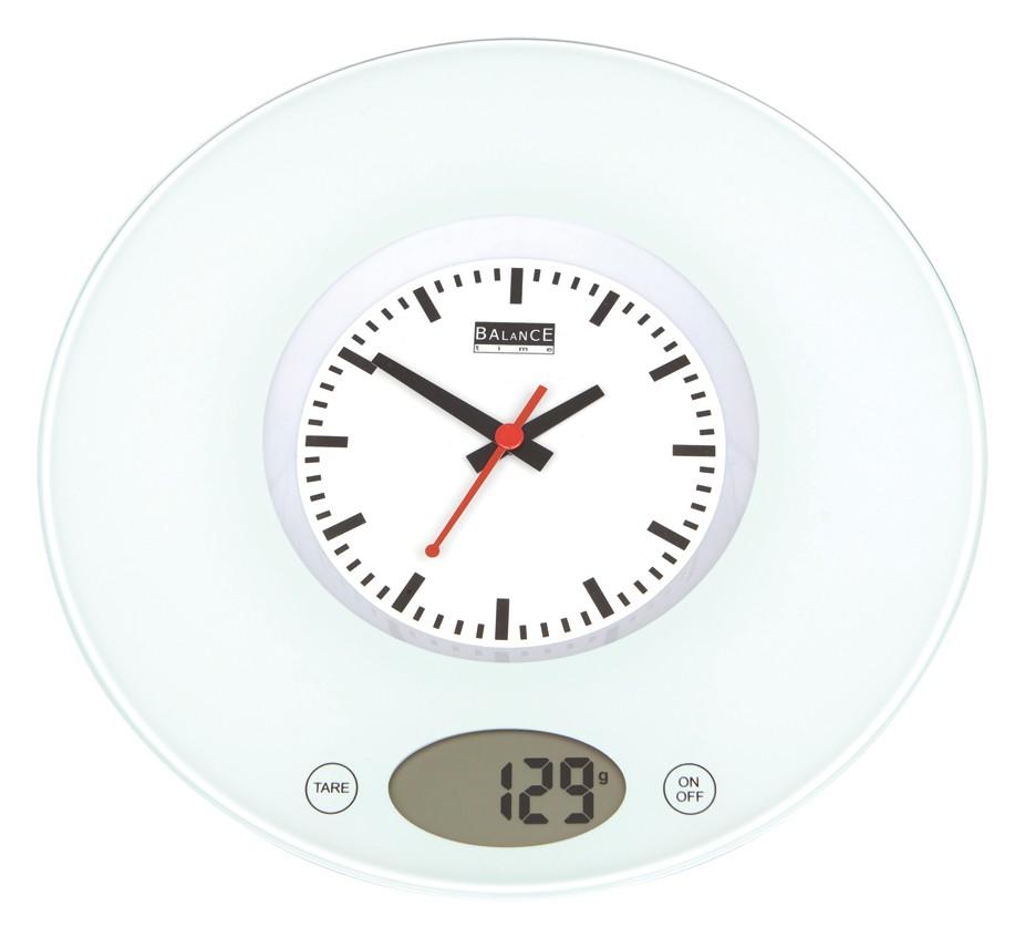 5871 Balance balance de cuisine avec horloge Cette balance de ...