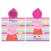ATLETICO DE MADRID - Serviette poncho en microfibre Peppa Pig