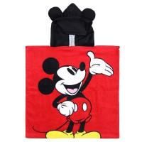 CERDA - Serviette de poncho en coton Disney Mickey
