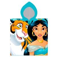 CERDA - Serviette poncho en coton Disney Aladdin Jasmin