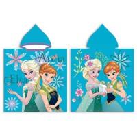 DISNEY - Serviette poncho en microfibre Disney Frozen