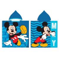 DISNEY - Serviette poncho en microfibre Disney Mickey
