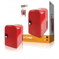 basicXL mini frigo thermos 4 litres rouge