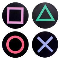 PALADONE - Boutons de la console Playstation Coasters