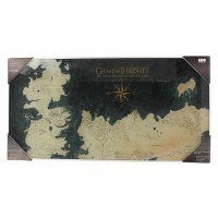 SD TOYS - Verre d'affichage Game of Thrones Ponient Map