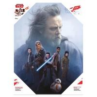 SD TOYS - Affiche en verre du groupe Star Wars Resistance Group