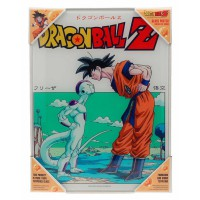 SD TOYS - Affiche en verre Dragon Ball Goku vs Freezer
