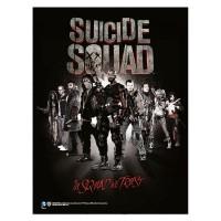 SD TOYS - Affiche de verre de Suicide Squad In Squad