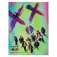 SD TOYS - Affiche en verre Suicide Squad XX