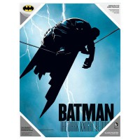 SD TOYS - Affiche en verre Batman The Dark Knight de DC Comics