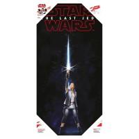 SD TOYS - Affiche en verre Star Wars Rey le dernier Jedi