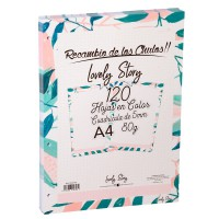 LOVELY STORY - Dossier A4 de remplacement