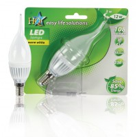 AMPOULE LED E14 BOUGIE 21 LED BLANC CHAUD HQ