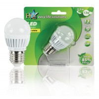 HQ ampoule LED globe blanc chaud