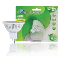 HQ ampoule LED GU5.3 MR16 22 W