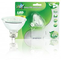 HQ ampoule LED GU5.3 MR16 20 LED blanc chaud