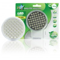 HQ GX53 led 78mm 2.5 W clear warm white
