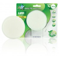 HQ GX53 led 78mm 5.6 W mat warm white