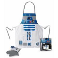 SD TOYS - Tablier Star Wars R2-D2 avec des gants