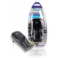 HQ chargeur compact de voyage AA/AAA + USB