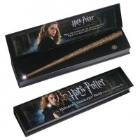 NOBLE COLLECTION - Harry Potter Hermione Granger Baguette Lumineuse