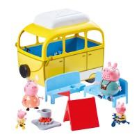 BANDAI - Ensemble de jeu de véhicule pour camping-car Peppa Pig