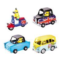 MONDO MOTORS - Assortiment de véhicules Minions