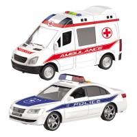 MONDO MOTORS - Assortiment de véhicules en cas d'urgence