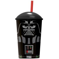 STOR - Verre Star Wars avec paille