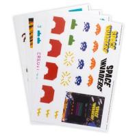 PALADONE - Décalques de gadget Space Invaders