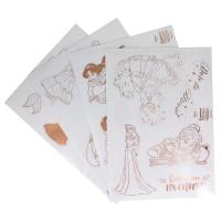 PALADONE - Stickers Princesses Disney