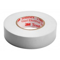 3M temflex isolation tape 15 mm 10 m white