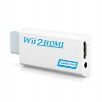 Alpexe Adaptateur Wii vers HDMI Convertisseur connecteur avec 1080p/720p Sortie Vidéo et audio de 3,5 mm – Prise en charge tous