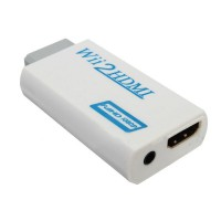 Alpexe Wii HDMI Video Converter - Full HD FHD 1080P adaptateur convertisseur 3,5 mm Sortie audio Jack