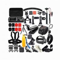 Alpexe Kit d'accessoires 50-en-1 pour GoPro Hero 7 Hero Session 5, Noir AKASO EK7000 Apeman DBPOWER AKASO
