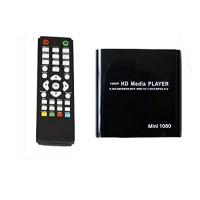 Alpexe Lecteur Multimédia Mini HDD 1080p MKV / H.264 / RMVB HD avec HOST Carte USB / SD Lecteur Noir