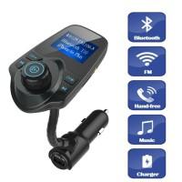 Alpexe Transmetteur FM, Bluetooth Radio Chargeur de Voiture Allume-Cigare