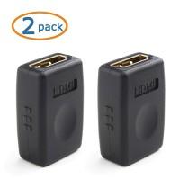 Alpexe 2 Pack Coupleur HDMI - Prend en Charge 3D et Résolution 4K