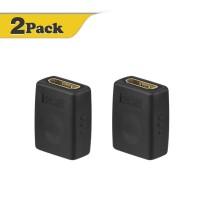 Alpexe Lot de 2 adaptateurs HDMI Femelle vers Femelle Haute Vitesse résolution 3D et 4K