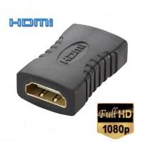 Alpexe HDMI femelle vers femelle coupleur Extendeur Connecteur Adaptateur pour HDTV HDCP