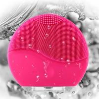 Alpexe Brosse Nettoyante pour le visage et Massage,Silicone, Rechargeable Imperméable