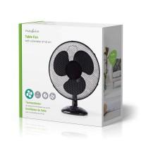 Ventilateur de table 40 cm – Oscillant – Noir