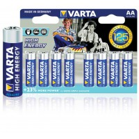 Varta piles LR6 alcalines high energy 1.5 V