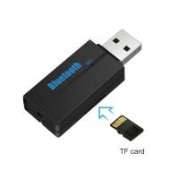 Alpexe Récepteur Bluetooth pour stéréo de voiture, adaptateur pour Home stéréo sans fil avec câble de 3,5 mm