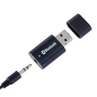 Alpexe Transmetteur Bluetooth Émetteur et Récepteur Adaptateur Sortie Stéréo de 3,5 mm USB