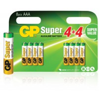 GP piles AAA alcalines mignon penlite